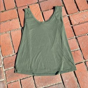 A New Day Olive Green Tank Top XL